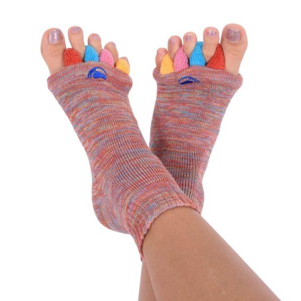 Fußausrichtungssocken, calze per l'allineamento del piede, foot alignment socks