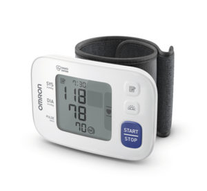 Handgelenk-Blutdruckmessgerät, Blutdruckmesser, Omron, sfigmomanometro, misuratore di pressione, da polso