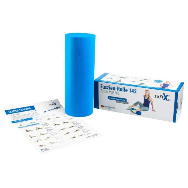 Faszien-Rolle, rullo fascia, softX, Faszientraining, allenamento miofasciale