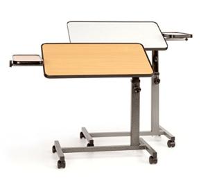 Beistell-Tisch, mit Seitenplatte, Buche, tavolo da letto, con ripiano laterale, faggio, Russka