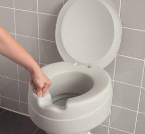 Toilettensitzerhöhung Soft, mit Deckel, weiche Sitzfläche, rialzo per wc soft, con coperchio, Russka