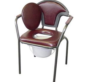 Toilettenstuhl blau, comoda senza ruote blu, Toilettenstuhl ohne Räder, Russka, Hilfsmittel, Pflege