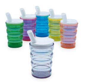 Trinkbecher-Set, transparent, ergonomisch, bicchiere ergonomico, trasparente