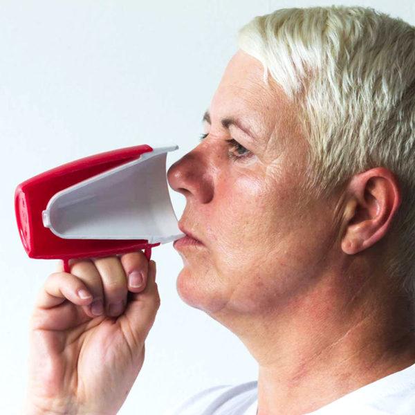 Thermo-Becher, Demenzbecher, Trink-Trick, Ornamin, tazza termica