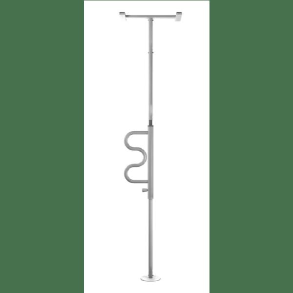 Boden-Deckenstange, Aufstehhilfe, barra di supporto, Pole, Rehastage